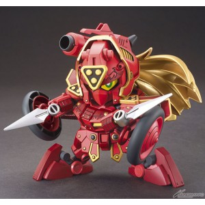 Bandai Gunpla SDBF Gundam Kurenai Musha Red Warrior Amazing