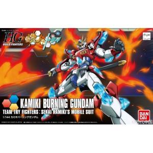 HGBF 1/144 Build Fighter Gundam Burning Kamiki