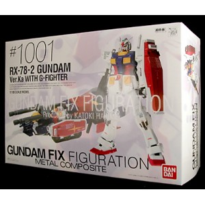 #1001 Gundam RX-78-2 & G-Fighter