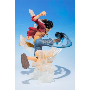 Bandai Figuarts Zero One Piece Monkey D. Luffy Gum Gum Hawk Whip(Aperto)