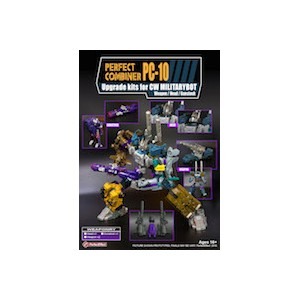 Perfect Effect PC-10 Combiner Wars Bruticus Upgrade Set  2 Weapons