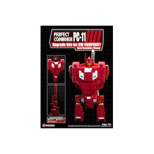 Perfect Effect PC-11 Combiner Wars Computron Upgrade Set #1: Chestplate + Head G1 + Lasercannon