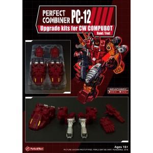 Perfect Effect PC-12 Combiner Wars Computron Upgrade Set  2: Hands & Feet