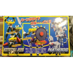 Evolution Toy Metal Dynamite Action S Kotetsu Jeeg & Pantheroid Set