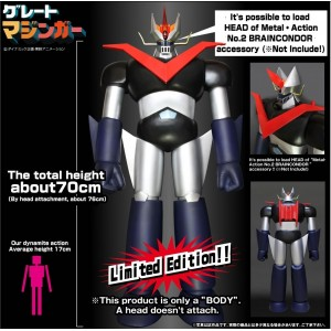 Evolution Toy Special Parts: Great Mazinger Body W/Metal Action No. 02 Brain Condor
