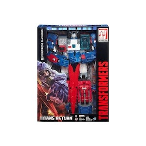 Transformers Titans Return Fortress Maximus With God Sword SDCC Exclusive