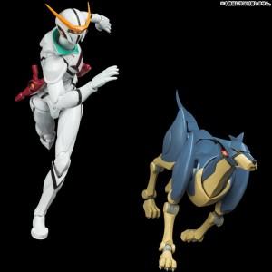 Sentinel Tatsunoko Heroes Fightingear: Kyashan & Flender Set