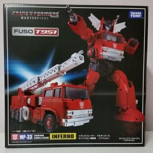 MP-33 Inferno + Optimus Prime Mini Figure