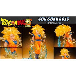 Bandai Figuarts Zero Dragon Ball Z Goku SSJ3 Tamashii Web Exclusive