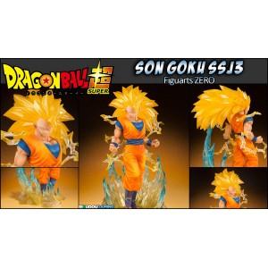 Bandai Figuarts Zero Dragon Ball Z Goku SSJ3 Tamashii Web Exclusive(Aperto)