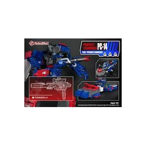 Perfect Effect PC-14 Titan Cannon for Titans Return Fortress Maximus