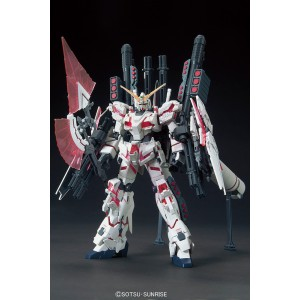HGUC 1/144 Gundam Unicorn Full Armor Red Frame 'Destroy Mode'
