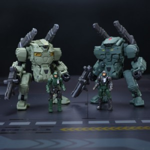 Takaratomy Diaclone Reboot: DA-05 Diaclone Powered Suit Type A & B Set Space Marine Version Takaratomy Mall Exclusive