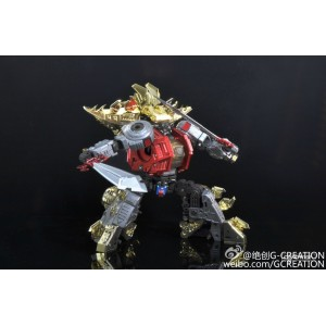 G-Creation Shuraking SRK-01 02 03 04 05 - Thunderous Growl Wrath Blade Hammer Dinobot Combiner (Full Set Of 5)