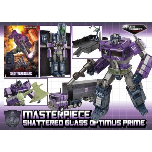 Hasbro Masterpiece Shattered Glass MP-10 Optimus Prime ASIA Exclusive
