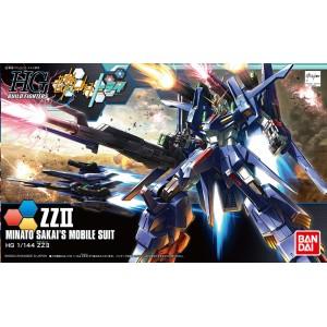 Bandai Gunpla High Grade  HGBF 1/144 Gundam ZZ II