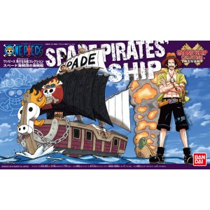 Bandai Plamo One Piece Grand Ship Collection: Spade Pirates