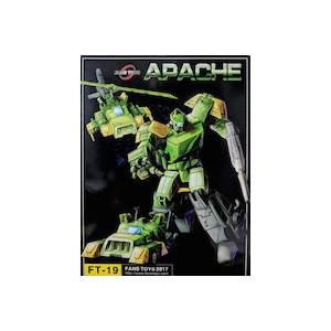 Fantoys FT-19 Apache aka Springer Triple Changer