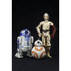 Kotobukiya ARTFX+ 1/10 Star Wars R2-D2 & C-3PO W/ BB-8 PVC STATUE