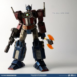 Hasbro x THREEA Transformers Generation one G1: Optimus Prime Classic(40 cm e 30% di Metallo)
