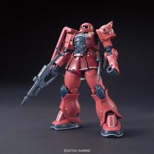 Bandai Gunpla High Grade HGUC 1/144 MS-05S Zaku I Char 'Origin'