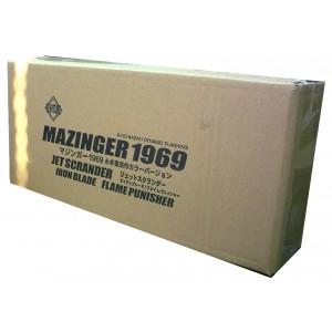 EXG-07X Mazinger Z 1969 Scramble Renewal Type  & Double Iron Cutter