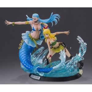 Tsume HQF Fairy Tail Lucy Hertfilia & Aquarius(Usata con Scatola C6)