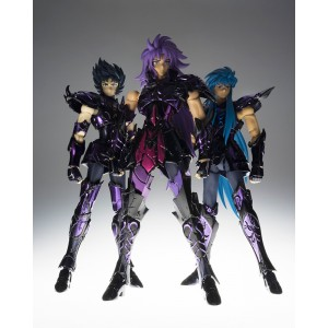 Bandai Saint Seiya Myth Cloth Broken Set for Saga,Camus and Shura Surplice EX