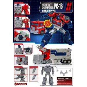Perfect Effect PC-16 Upgrade for Ginrai/Power Master Optimus Prime