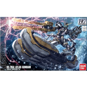 Bandai Gunpla High Grade HGUC 1/144 RX-78AL Gundam Atlas Thunderbolt Anime