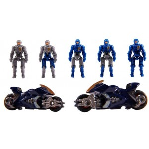 Takaratomy Diaclone Reboot: DA-15 Big Powered Trooper Set