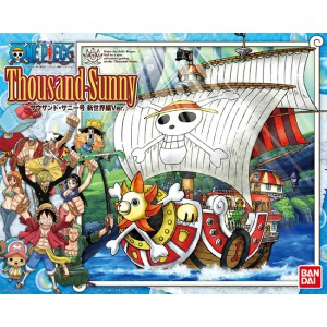 Bandai Plamo One Piece Grand Ship Collection: Thousand Sunny MK