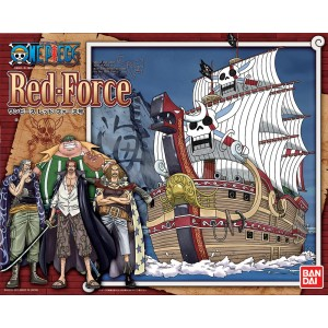 Bandai Plamo One Piece Grand Ship Collection: Red Force MK