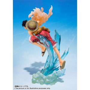 Bandai Figuarts Zero One Piece Monkey D. Luffy Brother's Bond