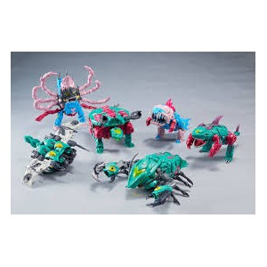 TFC Poseidon/Piranacon Complete Set