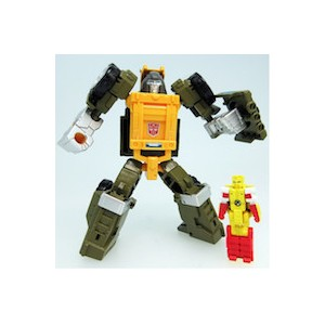 Transformers Legend LG-48 Cog(Brawn) & Repugnus