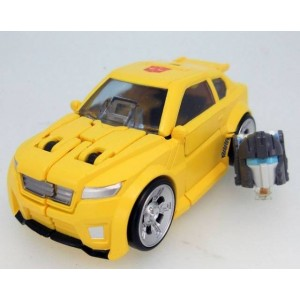 Transformers Legend LG-54 Bumblebee & Exo Suit Spike
