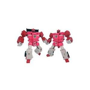 Transformers Legend LG-58 Clonebot Set  Fastlane & Cloudraker