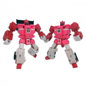 Transformers Legend LG-58 Clonebot Set  Fastlane & Cloudraker