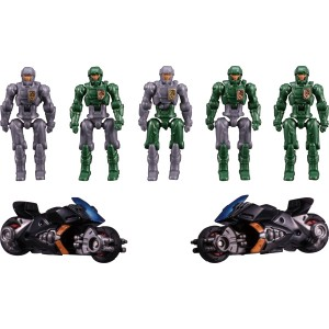 Takaratomy Diaclone Reboot: DA-18 Big Powered GV Dia-Nauts Set(I.M.S. Version) TTmall Exclusive