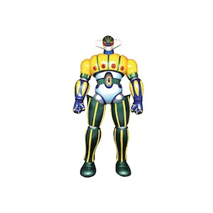 Move The Game Marmit  Kotetsu Jeeg Vynil Figure 40 cm Metallic Color