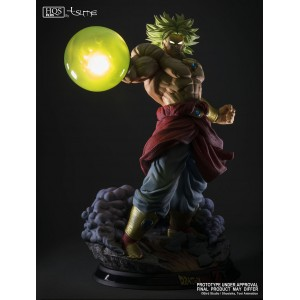 "Tsume HQS Plus Dragonball Z: Broly - Legendary Super Saiyan ""King Of Destruction"""