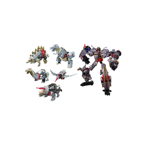 Transformers Power Of The Prime PP-11/12/13/14/15 Dinobots Set: Volcanicus
