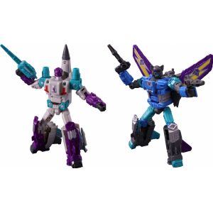 Transformers Power Of The Prime PP-17 Dreadwing & PP-18 Blackwing