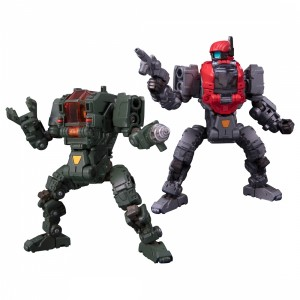 Takaratomy Diaclone Reboot: DA-25 Powered System Maneuver Alpha & Beta Set (Maneuver Prototype / Space Marine Corps Ver.