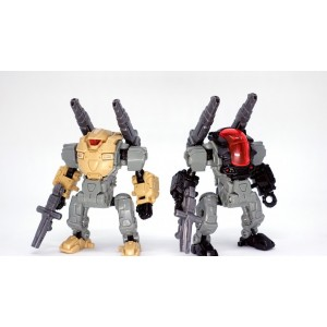 Takaratomy Diaclone Reboot: DA-00 Powered System Set A+C Type (Desert Combat Squad Version)