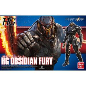 Bandai Plamo Pacific Rim Uprising HG Obsidian Fury