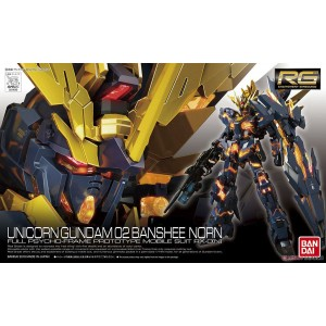 Bandai Gunpla Real Grade RG 1/144 Gundam RX-0 Unicorn 2 Banshee Norn 'Normal Box'