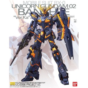 Bandai Gunpla Master Grade MG 1/100 Gundam Unicorn 2 Banshee Ver.Ka