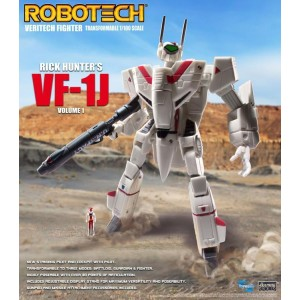 Toynami Robotech Veritech Fighter Volume 1 VF-1J Rick Hunter 1/100